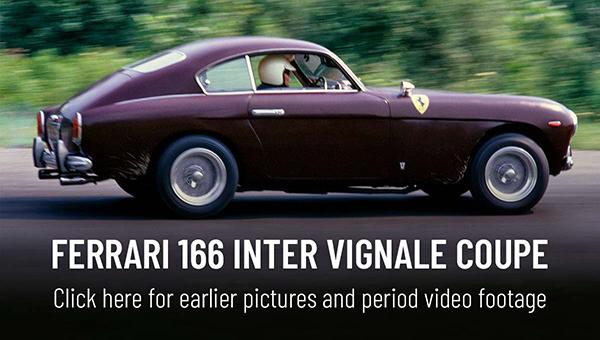 Ferrari 166 Inter Vignale Coupe